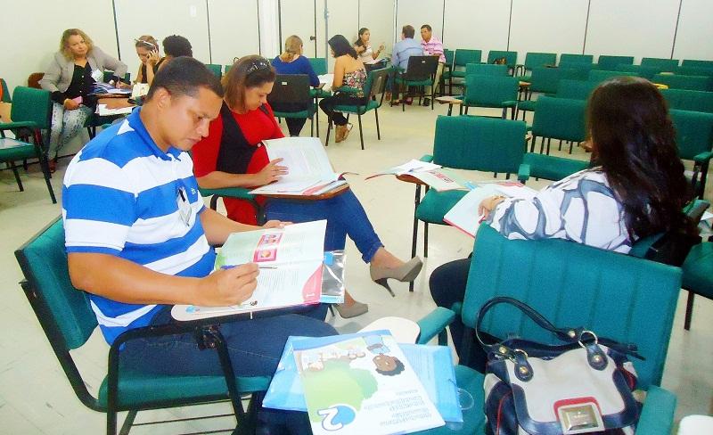 1ª Capacitação da edição do projeto Selo Unicef, durante a edição 2013-2016 (Foto: Fábio Cadete/G1)