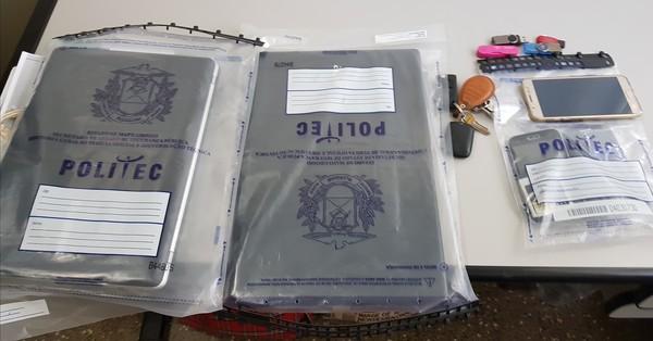 Equipamentos eletrônicos apreendidos serão periciados, segundo a polícia (Foto: Polícia Civil de MT)