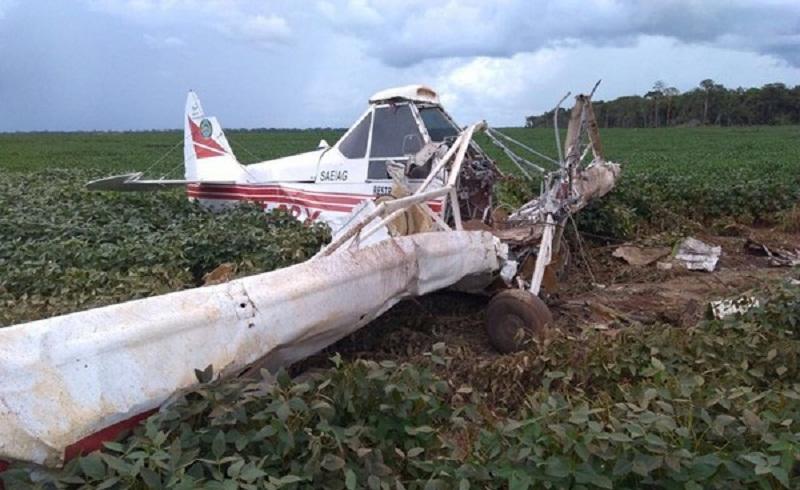 Piloto chegou a ser socorrido com vida, mas morreu após dar entrada no hospital (Foto: Polícia Civil de MT)