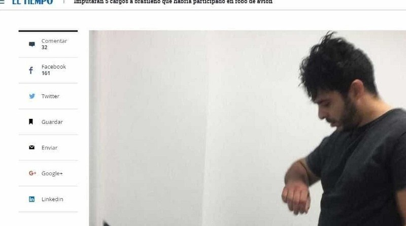 brasileiro colombia preso