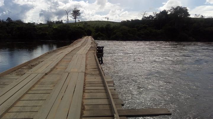 Nível de rio atinge situação de emergência e ameaça levar ponte do Jamanxim
