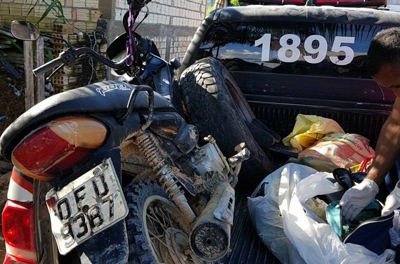 Imagem Forte- Corpo em decomposição é encontrado em estrada vicinal de Novo Progresso
