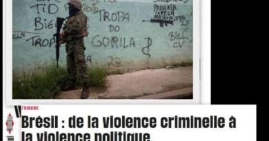 """Brasil """"é mais violento do que o Iraque"""", diz Libération"""