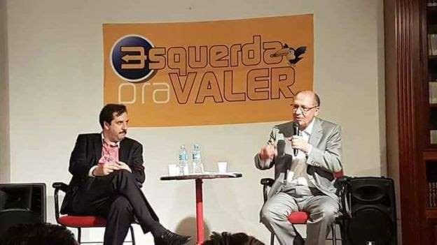 Geraldo Alckmin em evento da corrente tucana Esquerda Pra Valer: Desde o fim de 2017, Alckmin tenta ganhar a simpatia de eleitores à esquerda (foto PSDB / Divulgação)