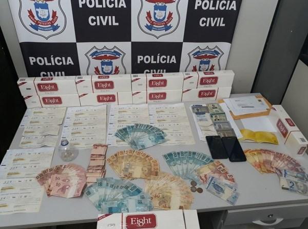 Criminosos devem responder estelionato e associação criminosa (Foto: PJC/Divulgação)