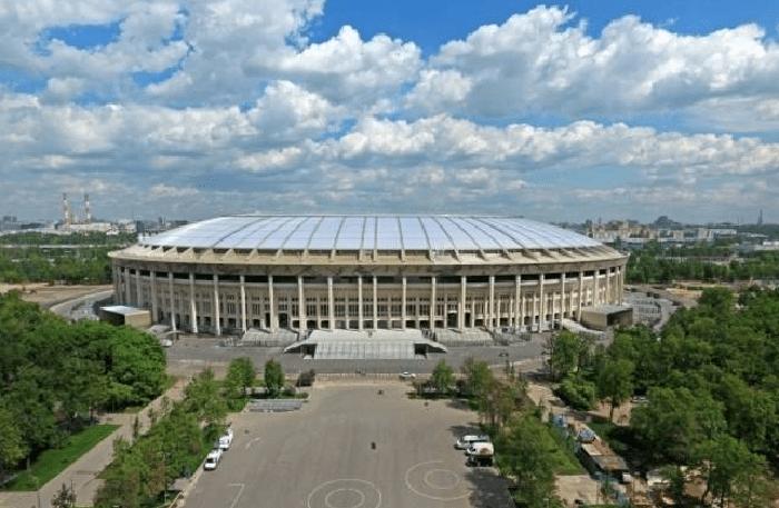 Se o Brasil se classificar em segundo do grupo, pode disputar a semifinal no estádio de Lizhniki, em Moscou, no dia 11 de julho. Independentemente da colocação que a seleção termine a primeira fase, se chegar à grande final da Copa, o palco também será o Luzhniki, no dia 15 de julho. (Foto: Divulgação Fifa).