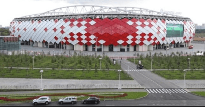 No dia 27 de junho, o Brasil enfrenta a Sérvia, em Moscou, no estádio do Spartak. (Foto: Divulgação Fifa)