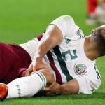 Lesionado, jogador titular do México é liberado e está fora da Copa