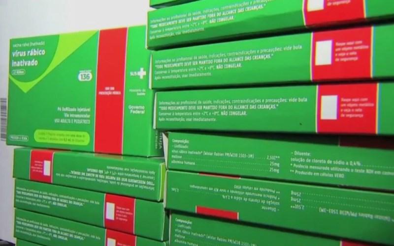 Já foram enviadas 2 mil doses de vacinas antirrábicas e mais 600 frascos de soros antirrábicos para reagião de Melgaço, no Marajó. (Foto: Reprodução/TVCA)