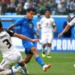 Brasil sofre e no sufoco vence Costa Rica na Copa do Mundo