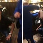 Na Rússia, assessor de presidente da CBF quebra copo na cabeça de paraense