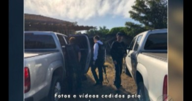 Local onde o corpo de Jean Gomes Martins foi encontrado em Oriximiná (Foto: Márcio Garcia/Divulgação)