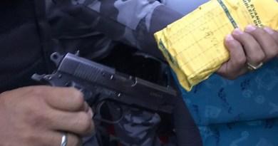 pistola ouro assem