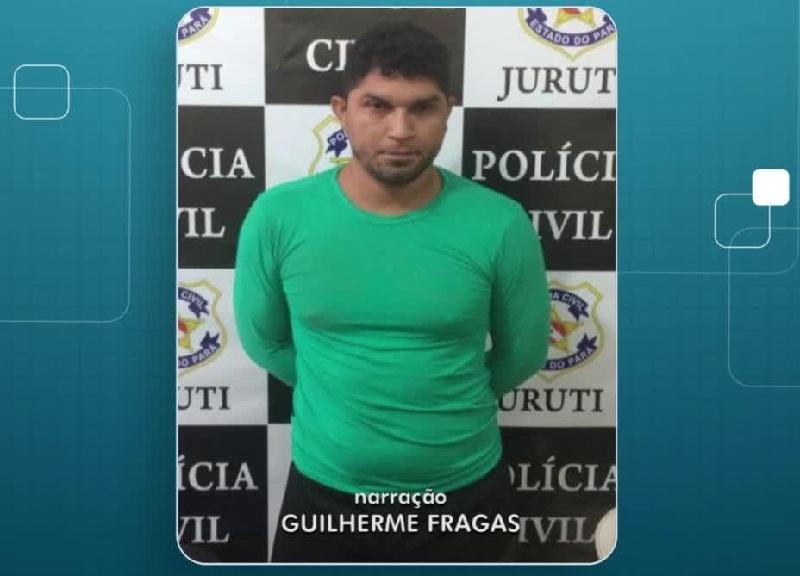 Suspeito de estuprar grávida em terreno baldio na Z. Norte de Manaus é preso Suspeito de estuprar grávida em terreno baldio na Z. Norte de Manaus é preso(Foto:Reprodução)