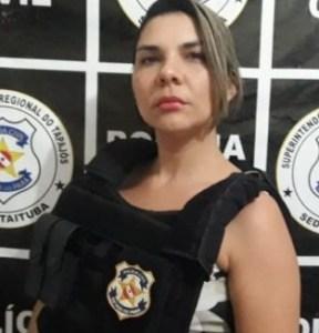 Delegada da mulher, Fabíola Rabelo.