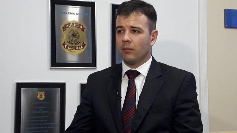 Delegado Davi jacobs (Foto: Polícia Federal)