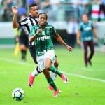 Palmeiras sofre, empata com gol de Melo e mantém terceiro lugar