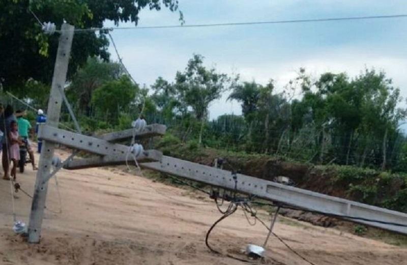 Dois Trabalhadores morrem após trator atingir rede de energia em fazenda no interior de Novo Progresso
