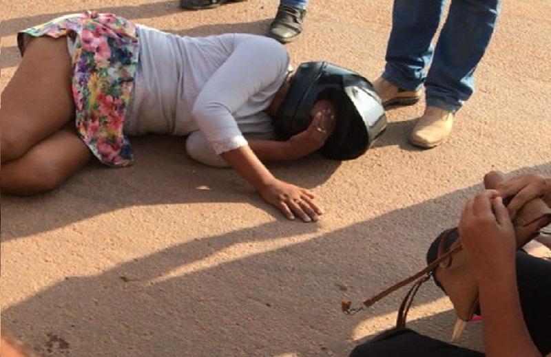 Recém Cosntruida- Rotatória faz a primeira vítima de transito em Novo Progresso