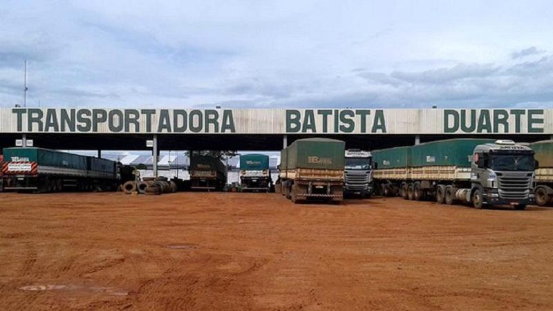 Transportadora Batista em Novo Progresso (Foto>:Reprodução)