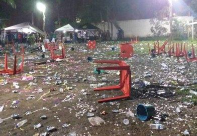 Fiscalização da Semma-Show termina em pancadaria e saque em Marabá