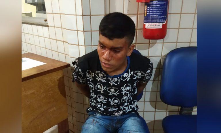 Jardison Carneiro Nascimento, acusado. (Foto: Jhony Notícias)