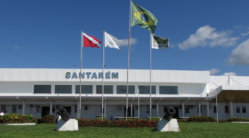 Três voos foram alternados para Santarém após incidente em Manaus(AM) — Foto: Infraero/Divulgação