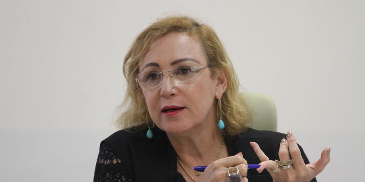Secretária de Estado de Administração, Alice Viana afirma que pagamento de salários em dia sempre foi prioridade (Redação Integrada/Cristino Martins/Arquivo)