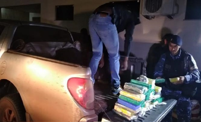 Veículo com placa de Novo Progresso é preso em Belém com mais de R$1 milhão em cocaína camuflada em caminhonete