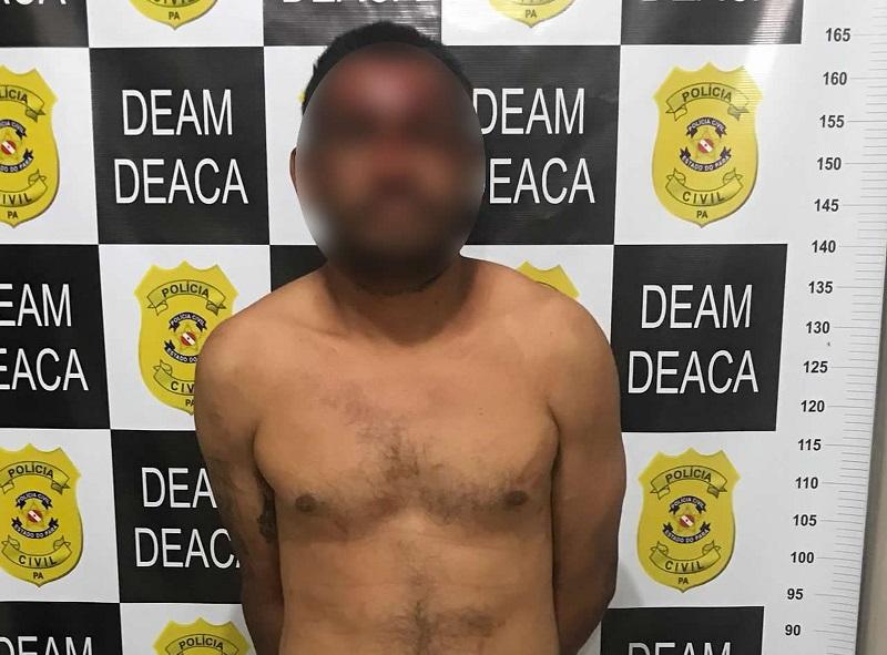 Homem é preso após tentar matar mãe de 62 anos a golpes de pá na cabeça, no Pará