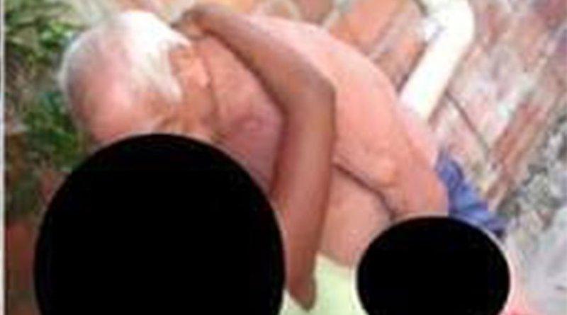 Idoso é flagrado em vídeo abusando de criança e polícia investiga o caso em São Luís — Foto: Reprodução/TV Mirante