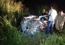 Homem morre em violenta colisão entre carro e carreta na BR-163 no MT