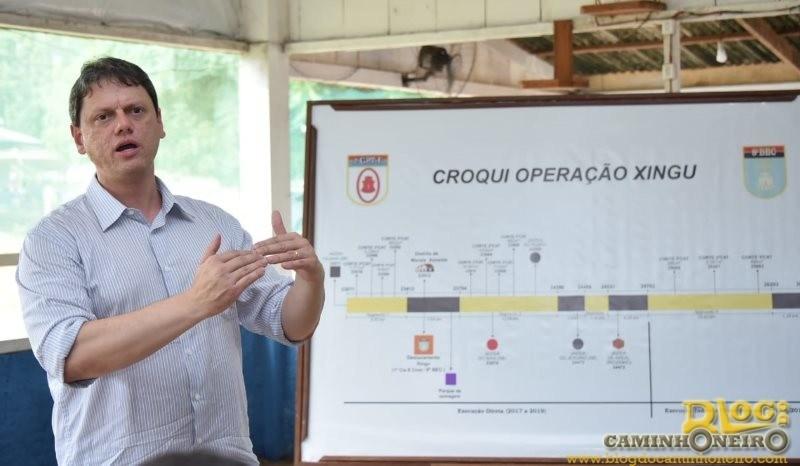 Ministro-Tarcisio-de-Freitas-BR-163-viagem-de-caminhao-1