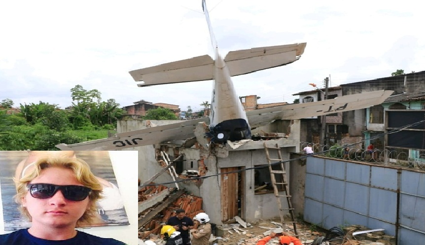 "Piloto progressense ""Wachekoswski"" continua internado em estado grave em Belém"