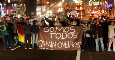 nova greve camioneiros diz a intidade