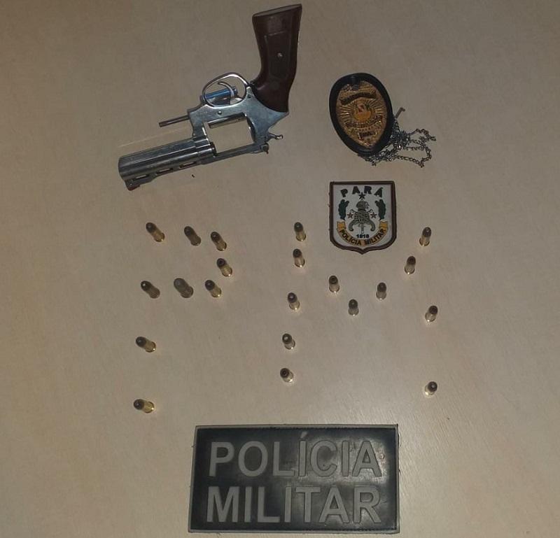 Armas e Munição apreendidas (Foto :Policia)