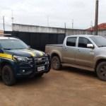 PRF recupera no Mato Grosso do Sul caminhonete adulterada com placa de Novo Progresso