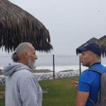 Carateca paraense, ex-treinador de antigo campeão mundial do UFC, ministra seminário no Peru