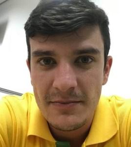 Eduardo funcionário do banco Sicredi -Bastante ferido-(Foto:Reprosuçao)