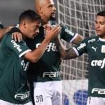 Palmeiras atropela o Santos no Pacaembu e goleia por 4 a 0