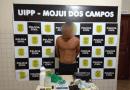 Jovem de 24 anos foi preso por ameaçar a ex-companheira e tráfico de drogas em Mojuí dos Campos