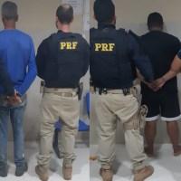 PRF de Santarém efetuou duas prisões de foragidos na Br 163 em Novo Progresso
