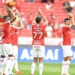Com três gols anulados, Inter e Santos empatam no Beira-Rio