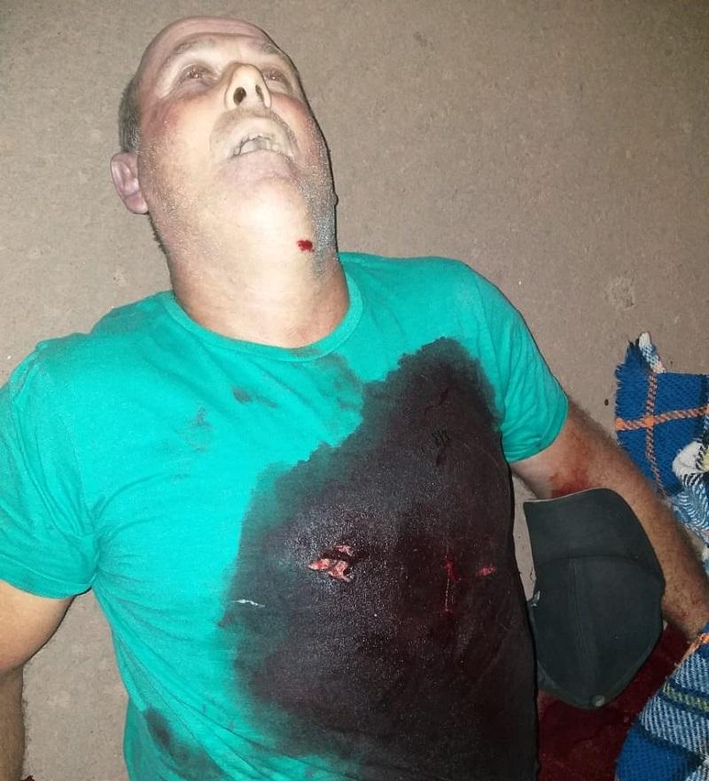 Vitima levou um tiro e morreu no local (FotoWhatsApp)