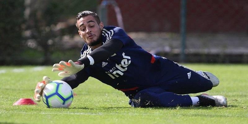 Jean Paulo Fernandes durante treino no CT do São Paulo - (Foto:Rubens Chiri/saopaulofc.net)