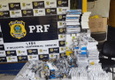 PRF de Santarém apreende mais de 130 celulares e diversos produtos sem nota fiscal durante abordagem
