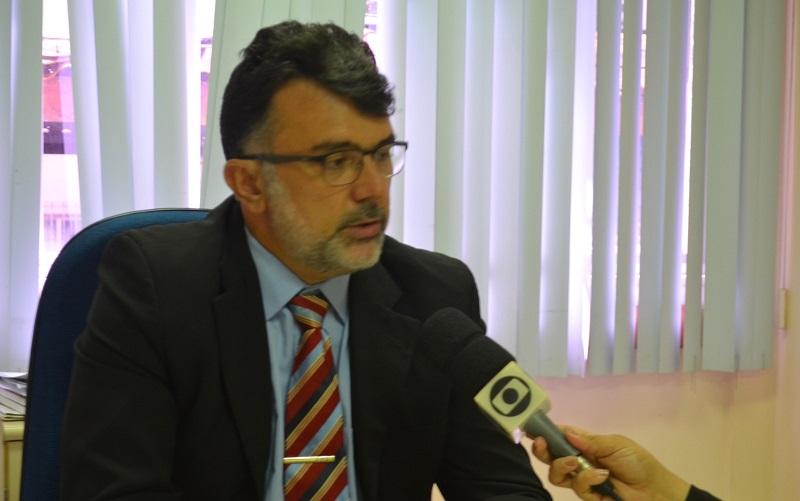 Juiz Alexandre Rizzi — Foto: Geovane Brito/G1