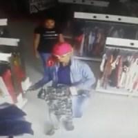 Câmera de segurança flagra assalto em loja de confecções em Novo Progresso:Assista ao Vídeo