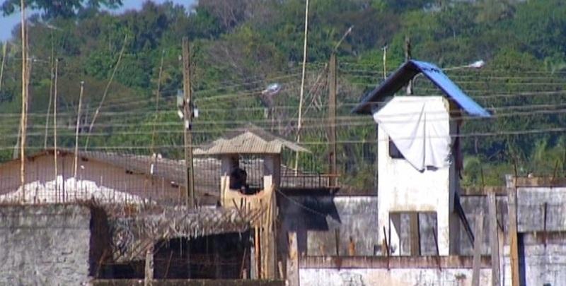 Presídio de Marabá — Foto: Reprodução / TV Libera — Foto: Reprodução / TV Liberal