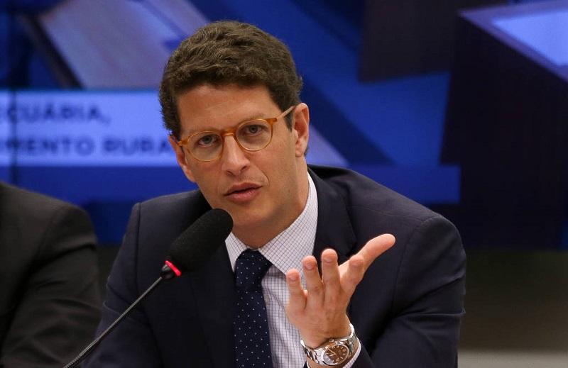 O ministro Ricardo Salles durante audiência na Câmara - Pedro Ladeira-27.nov.19/Folhapress